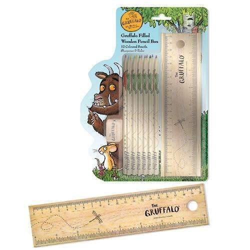 The Gruffalo Filled Wooden Pencil Box