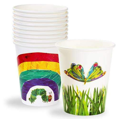 The Very Hungry Caterpillar Party Cups - Pack of 12