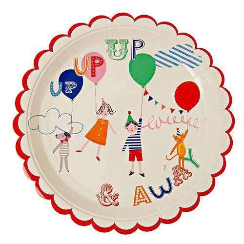 Toot Sweet Children Large Plates - Pack of 12