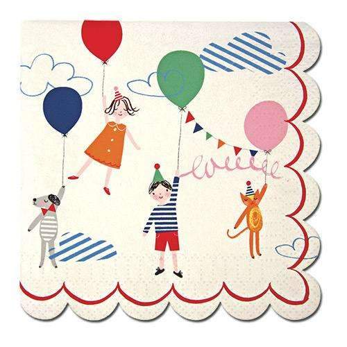 Toot Sweet Children Small Napkins