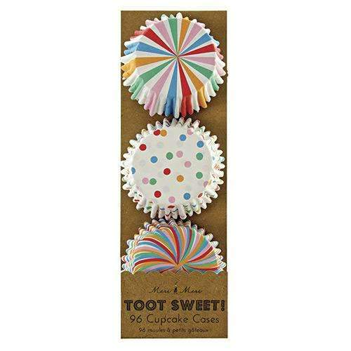 Toot Sweet Mini Cupcake Cases - Pack of 96