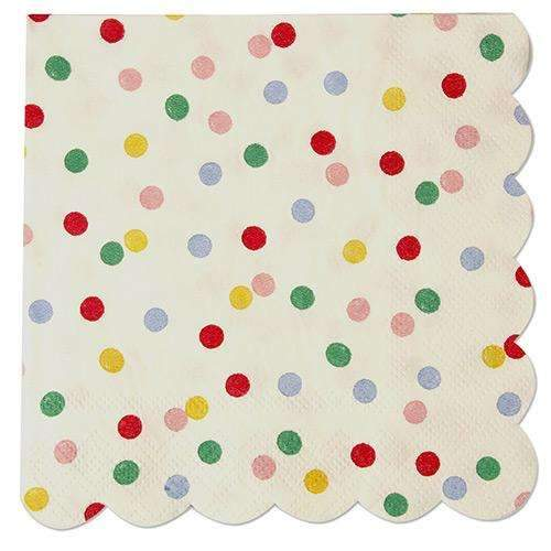 Toot Sweet Spotty Napkins (Small) - Pack of 20