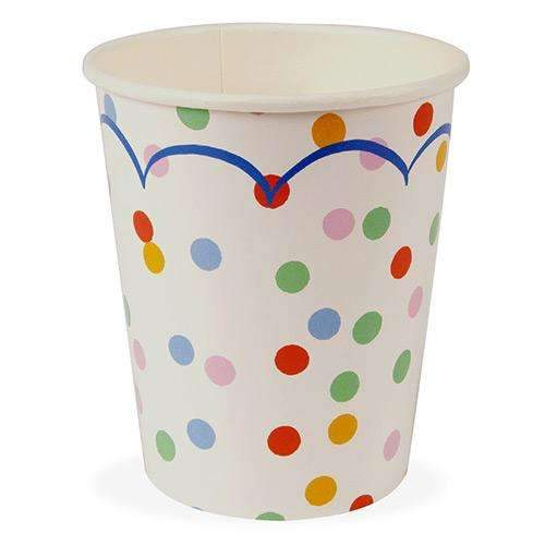 Toot Sweet Spotty Party Cups - Pack of 12