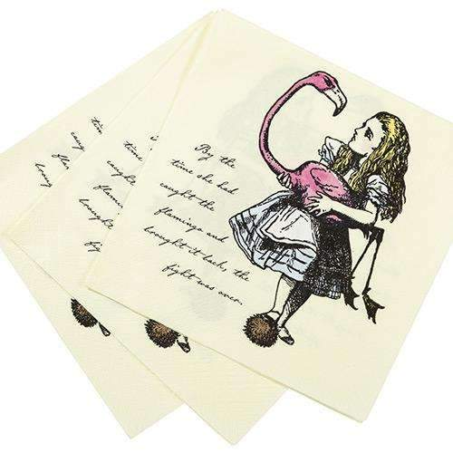 Truly Alice Tea Party Napkins - Pack of 20