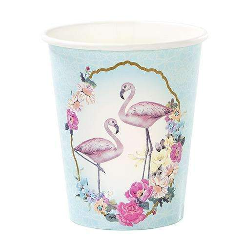 Truly Flamingo Party Cups - Pack of 12