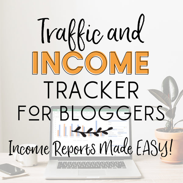 Traffic & Income Tracker for Bloggers - MS Excel