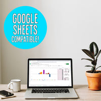Traffic & Income Tracker For Bloggers - Google Sheets