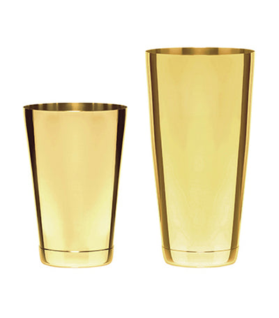 bar professional speakeasy boston shaker set gold 800ml