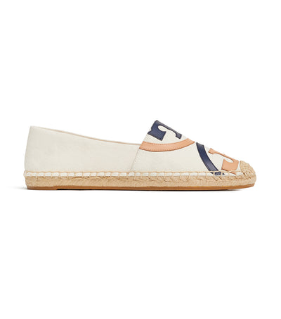 Tory Burch Poppy Canvas Espadrille - Powder