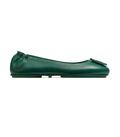 Tory Burch Minnie Travel Ballet Flat - Malachite