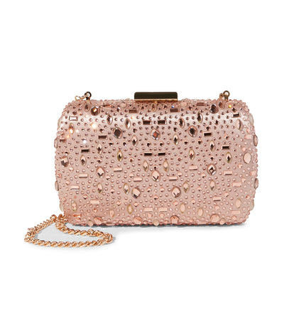 Bhearts Crossbody Clutch Bag Rose Gold