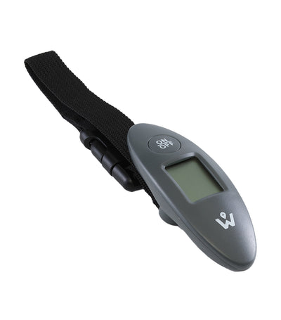Compact Digital Luggage Scale Gray