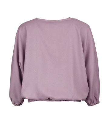 Lady Rustan Marley Long-Sleeved V-Neck Blouse Lilac