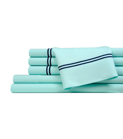 fifth avenue - blue sheet set - king