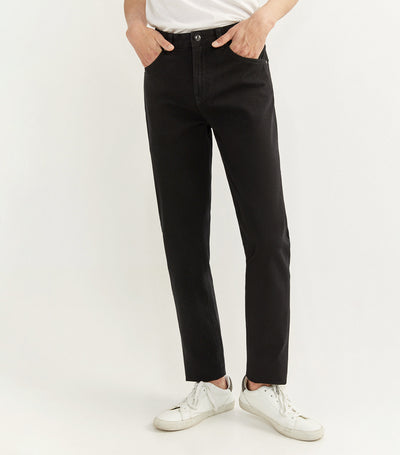 Bi-Stretch and Zero Gravity Five Pocket Trousers Black
