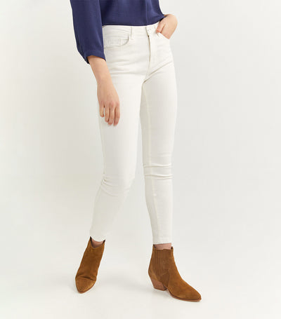 Slim Fit Trousers White