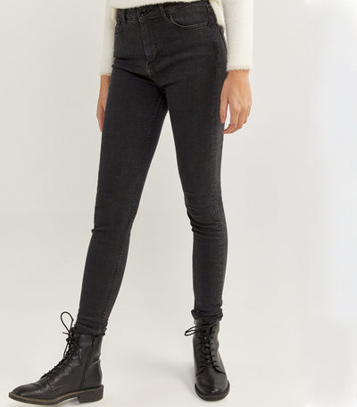 Sculpt Denim Trousers Black