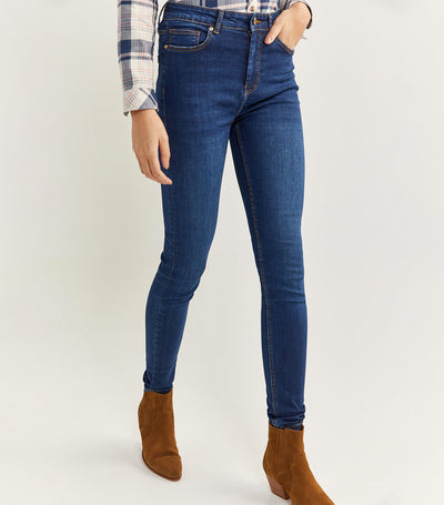 Sculpt Denim Trousers Blue