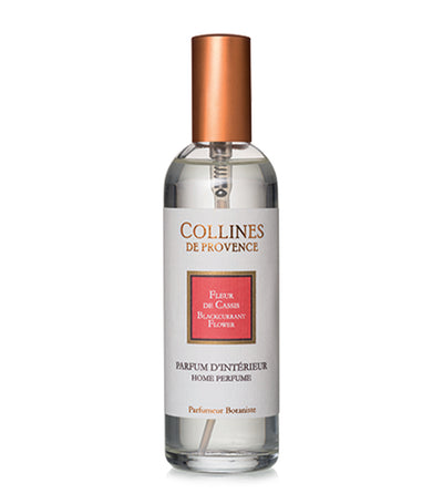 collines de provence blackcurrant flower room spray 100ml