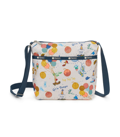 lesportsac dance party small cleo crossbody hobo