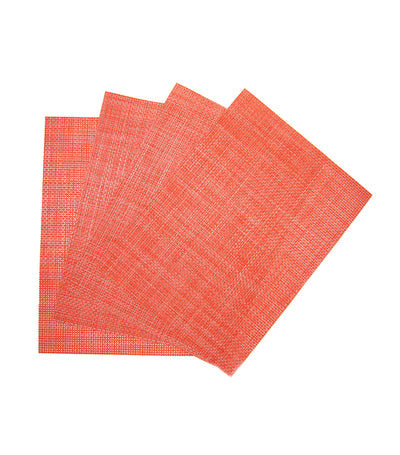 "benson mills calypso longport woven vinyl place mat set of 4 (13""x18"")"