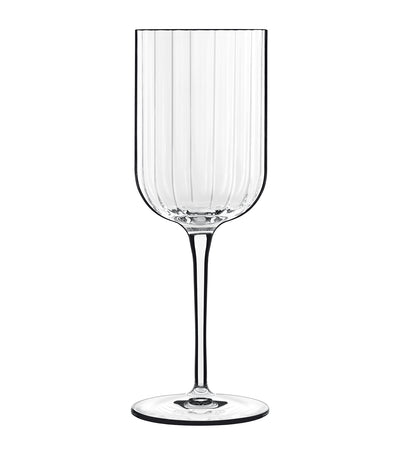 luigi bormioli bach white wine glass set of 4