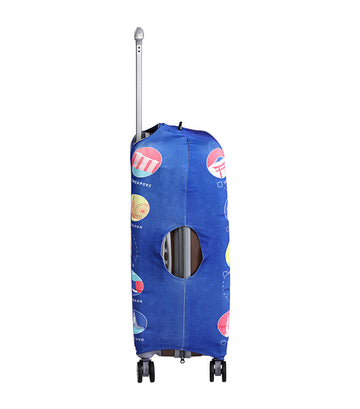 Where To Next Luggage Cover Small
