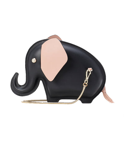 Tiny Elephant Crossbody Black