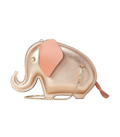Tiny Elephant Crossbody Pink Champagne
