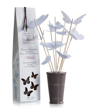 collines de provence aromatic bunch butterfly white 100ml