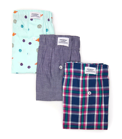Pack of Three Boxers Planet