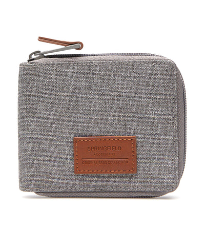Nylon Melange Wallet Gray
