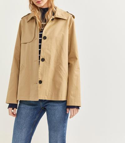 Cotton Jacket Khaki