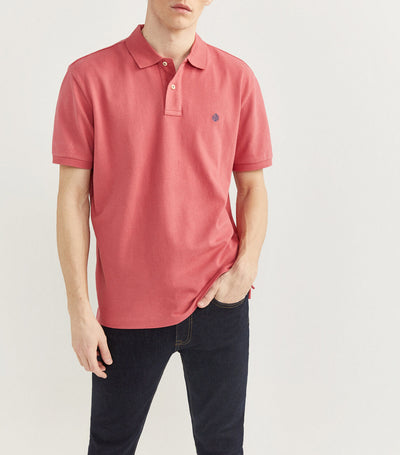 Essential Pique Polo Shirt Pink