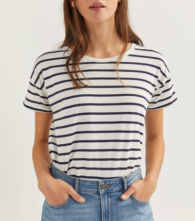 Striped T-Shirt Black and White