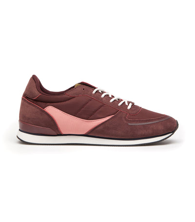 Women's Retro Sneakers Wine