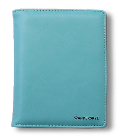 RFID Passport Holder Blue