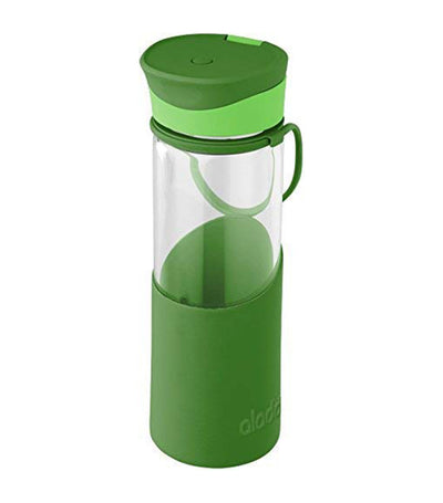 Aladdin Enjoy Glass Bottle 500ml - Green