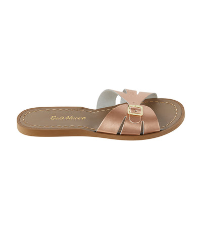 salt-water classic slides premium rose gold