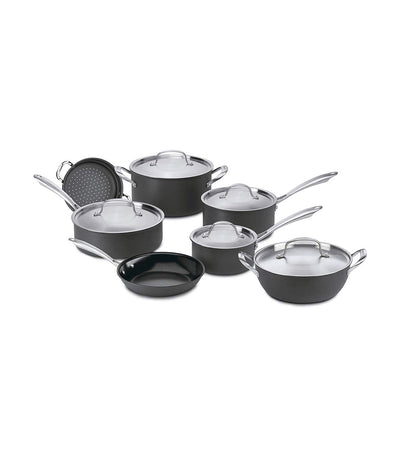 cuisinart greengourmet hard anodized 12 piece set