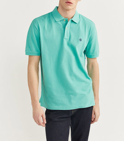 Essential Pique Polo Shirt Green