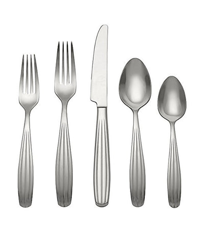 reed & barton stainless steel reed 5-piece cutlery set
