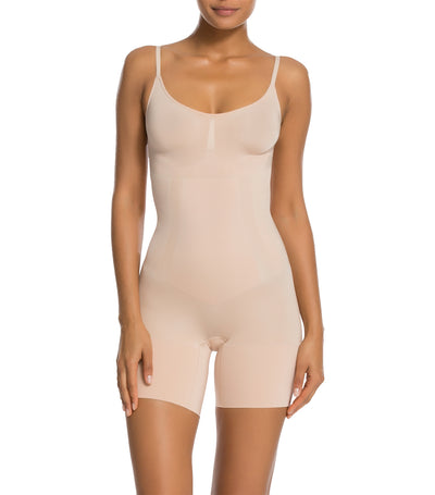 spanx oncore shape suit soft nude