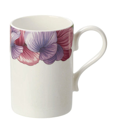 portmeirion sweet pea mug set of 4