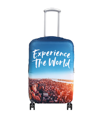 Experience the World Luggage Cover Medium