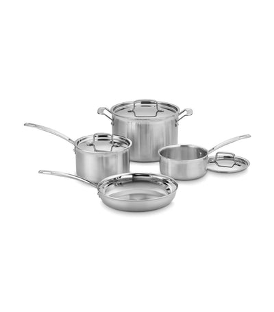 Cuisinart® MultiClad 7PC Pro Stainless Cookware Set