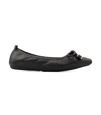 Pointy Ballet Flats Black