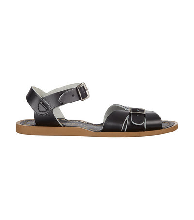 salt water classic sandals black