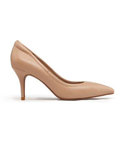 Pointy Toe Pumps Nude
