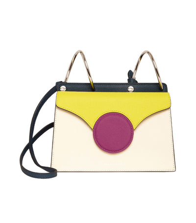 danse lente mini phoebe crossbody bag cotton and lime